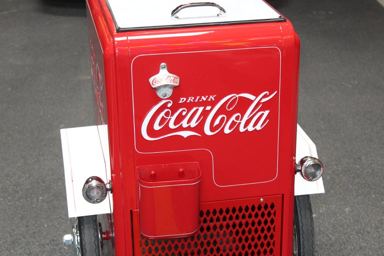 Contemporary Huffy Coca Cola Cooler Tricycle Vendor Bike For Sale 1