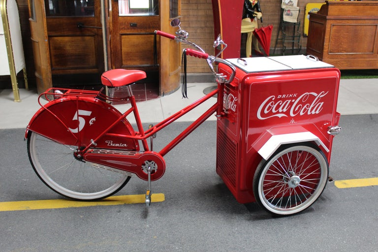 Contemporary Huffy Coca Cola Cooler Tricycle Vendor Bike For Sale 3