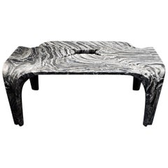 Contemporary Italian Marble Coffee Table Designed by Zaha Hadid