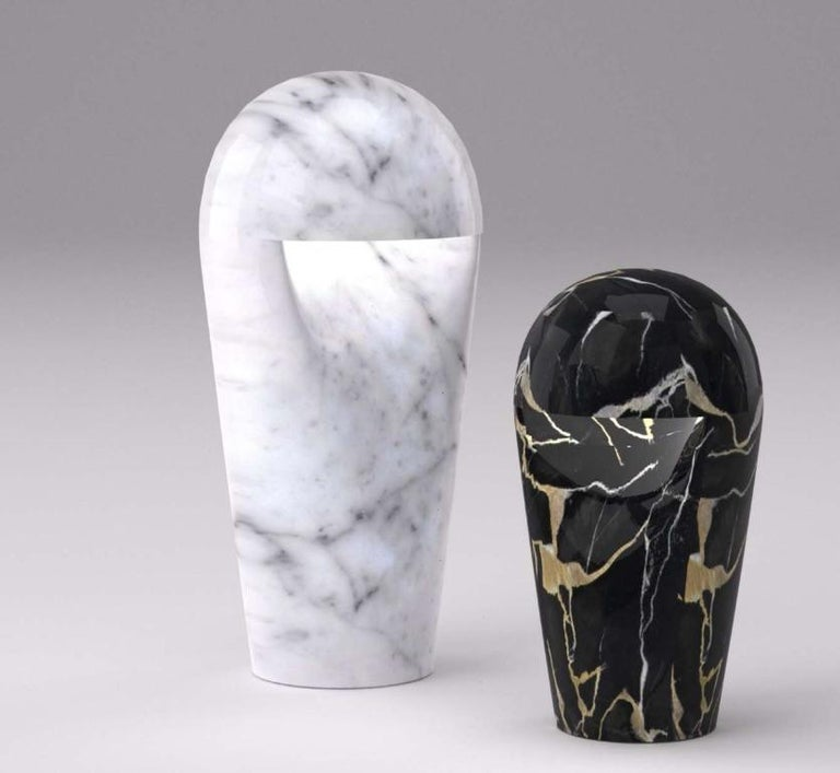 Contemporary Italian Marble Table Lamp Designed by Ferruccio Laviani In New Condition For Sale In Essex, CT