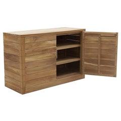 Contemporary Italian Outdoor Buffet with 2 Shelves