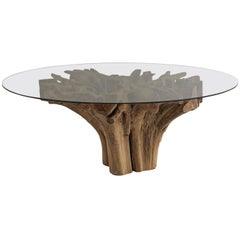 Contemporary Italian Outdoor Root Dining Table