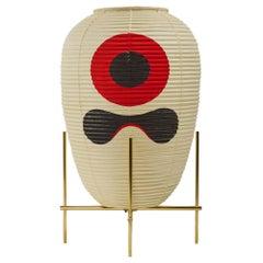 Contemporary Japanese Chochin Floor Lamp Limited Edition #1 Zen Washi