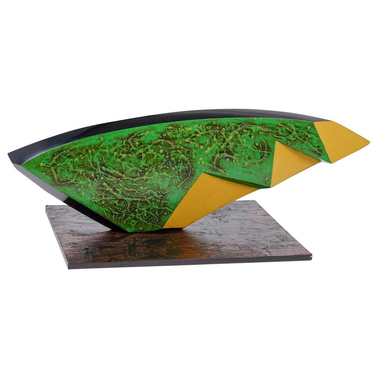 Contemporary Japanese Urushi Lacquer Sculpture For Sale