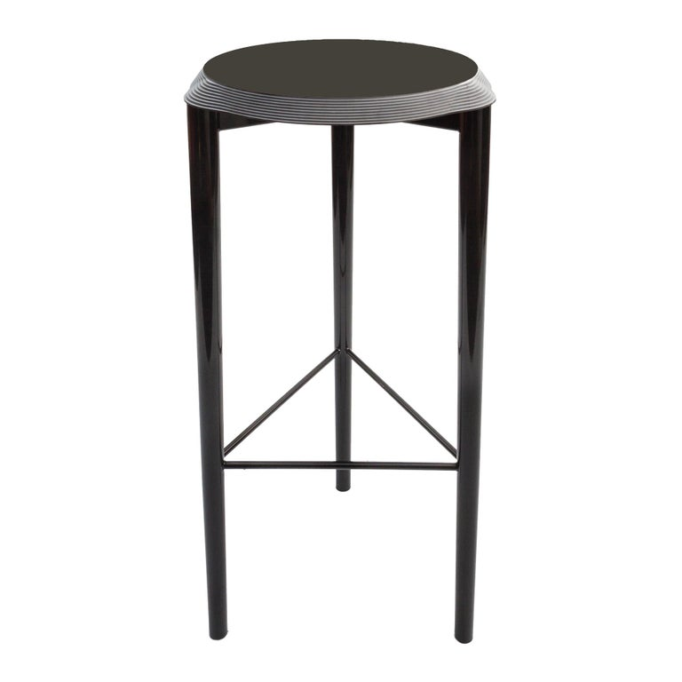 Jump high stool with black Corian top, new