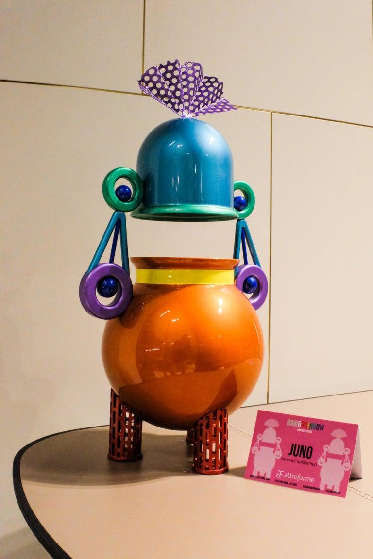Contemporary Juno Sculpture in Aluminium by Altreforme For Sale 2