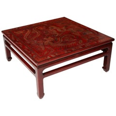 Contemporary Lacquered Coffee Table