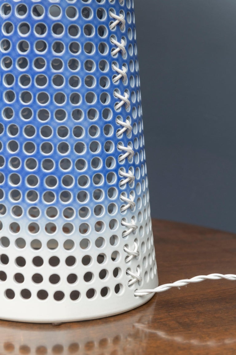Ceramic Contemporary Lamp by Ryan Mennealy For Sale