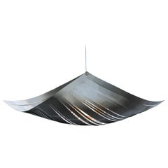 Contemporary Large Metal Pendant Lamp by Andrea Macruz