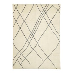 New Contemporary Large Moroccan Area Rug with Modernist Style