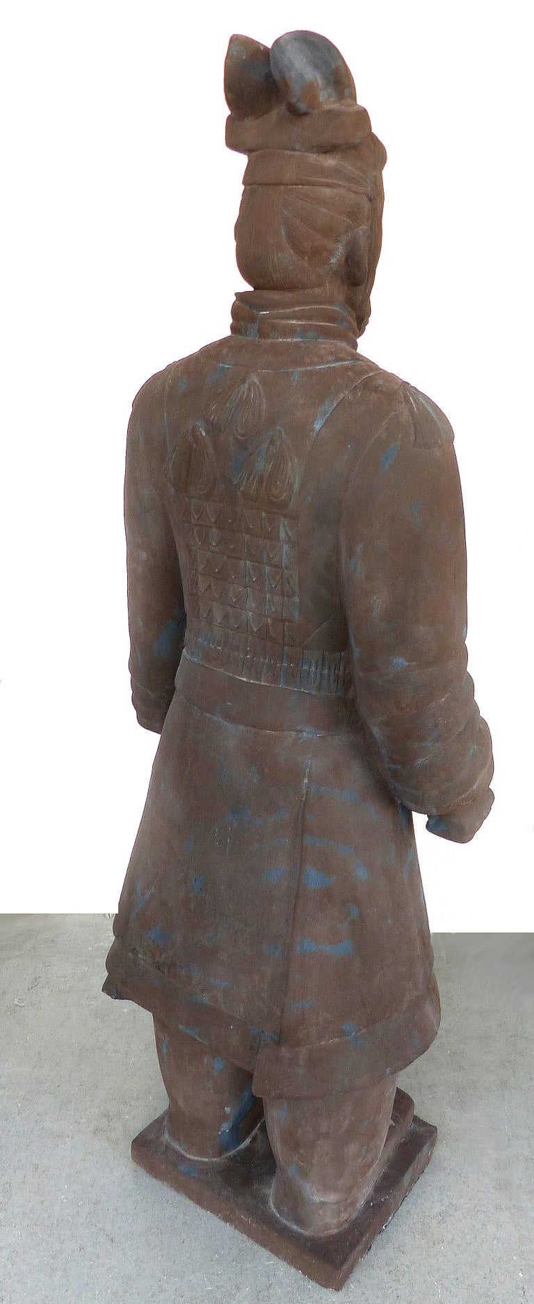 Contemporary Life-Size Chinese Terracotta Army Warriors For Sale 9