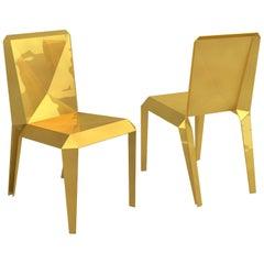 Contemporary Lingotto Chair in Aluminium by Altreforme