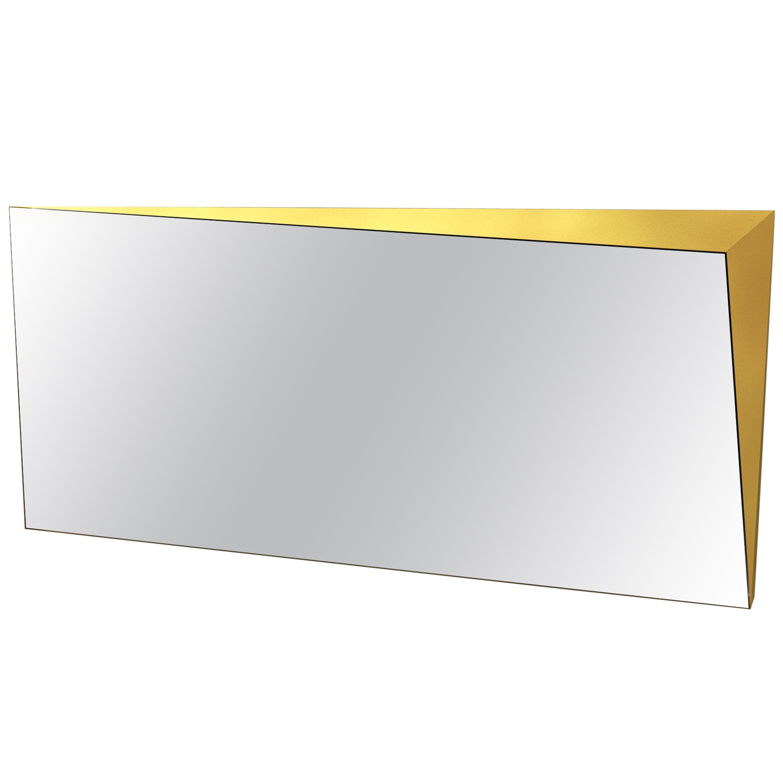 Contemporary Lingotto Mirror in Aluminium by Altreforme