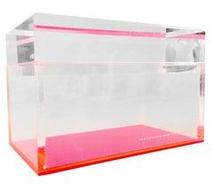 Contemporary Lucite Box by Alexandra Von Furstenberg