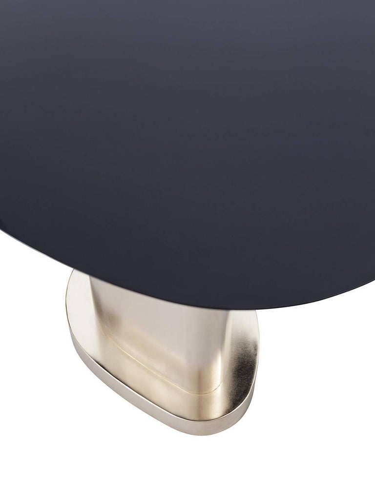 Lacquered Contemporary m2kr Twins Table Set in Wood and Galvanized Steel, Italy, 2017 For Sale