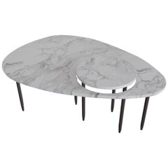 Contemporary Marble Center Table, by Chapter 101