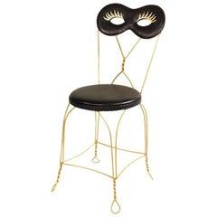 Contemporary Maschera Chair in Aluminium by Altreforme