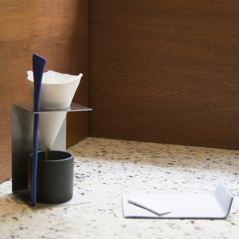 Other Contemporary Coffee Set Matte Porcelain For Sale