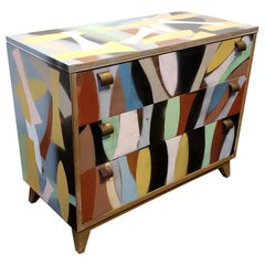 Contemporary Memphis Style Art Furniture by Artist Lionel Lamy