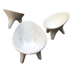 Contemporary Mexican Design Concrete Miniature Chair