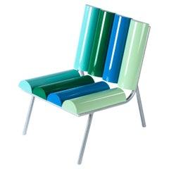Contemporary Milky Seat in Aluminium by Altreforme
