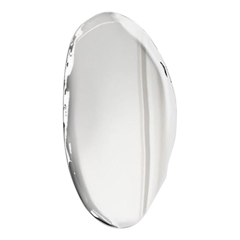 Contemporary Mirror 'Tafla O4' in Stainless Steel by Zieta Prozessdesign For Sale