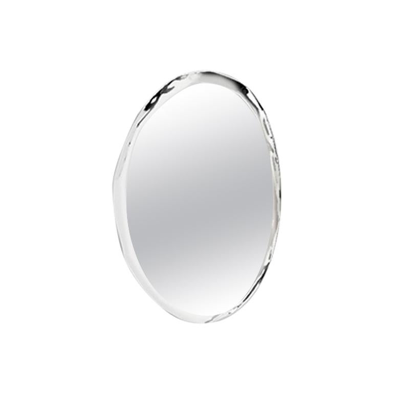 Contemporary Mirror 'Tafla O5' in Stainless Steel by Zieta Prozessdesign For Sale
