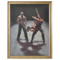 Contemporary Modern Dance Painting by Margaret Ware