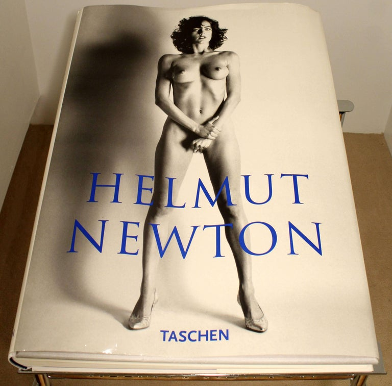 Contemporary Modern Helmut Newton Big Nude Sumo Book Stand Signed Numbered In Good Condition In Keego Harbor, MI