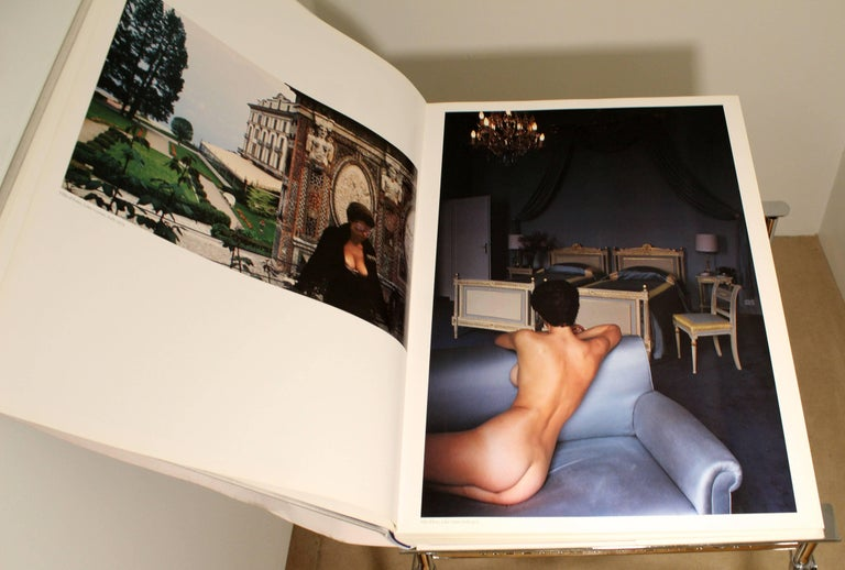 Contemporary Modern Helmut Newton Big Nude Sumo Book Stand Signed Numbered 4