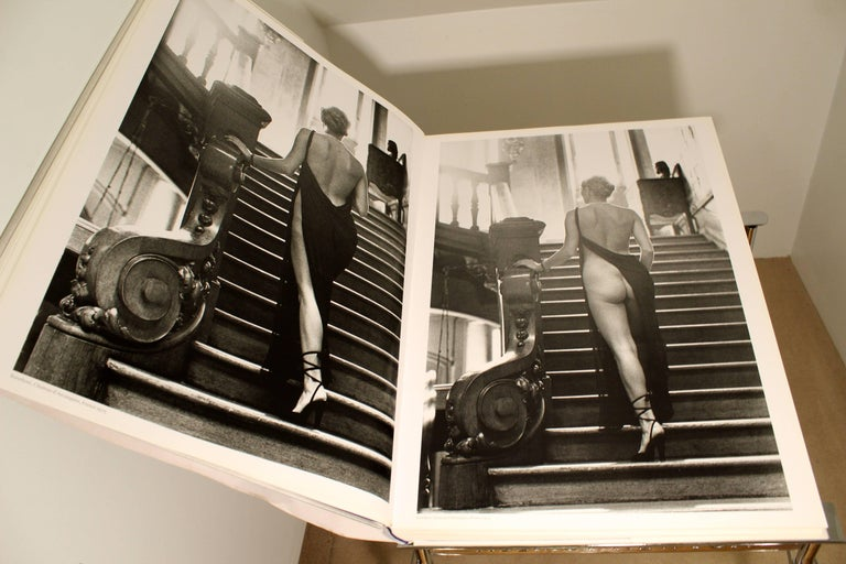Contemporary Modern Helmut Newton Big Nude Sumo Book Stand Signed Numbered 5