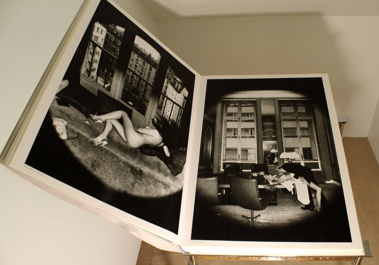 Contemporary Modern Helmut Newton Big Nude Sumo Book Stand Signed Numbered 6