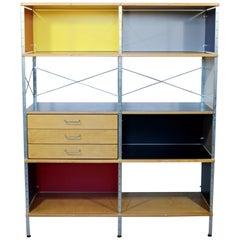 Contemporary Modern Herman Miller 4 x 2 Storage Shelving Unit 2000s 3-Drawer