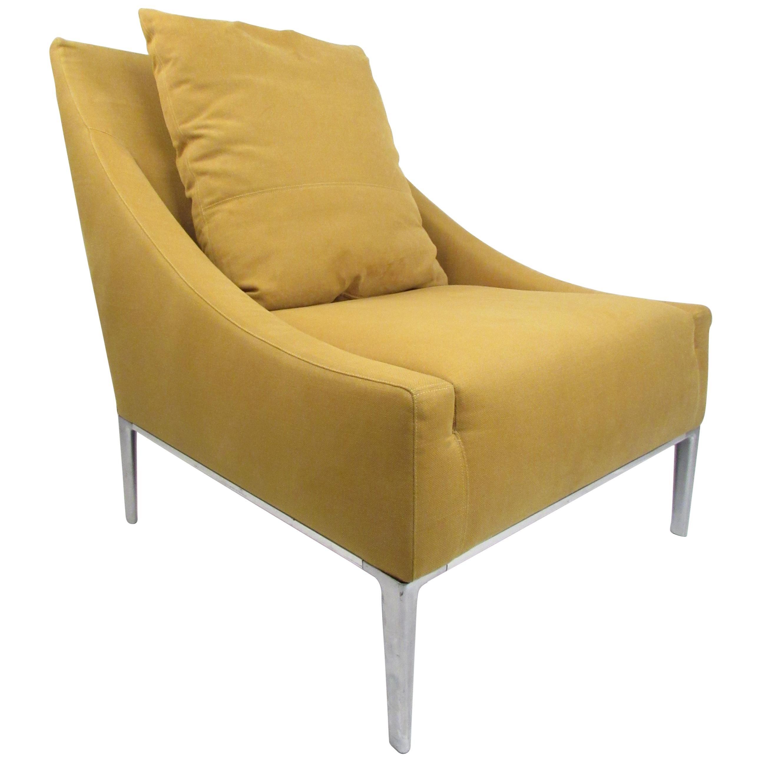Contemporary Modern Italian Lounge Chair by Antonio Citterio
