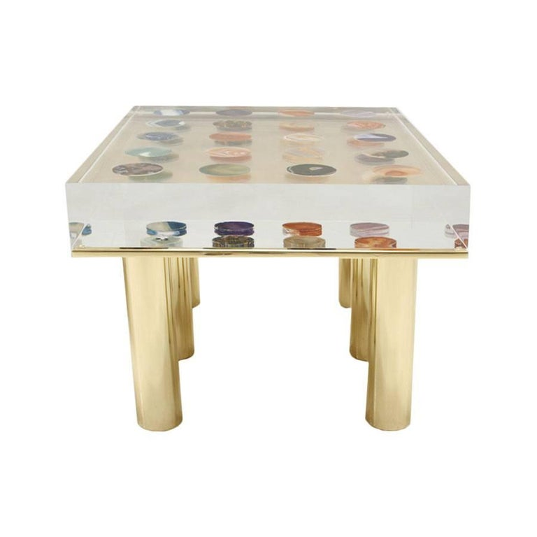 Contemporary Modern Pair of Italian Coffee Tables Designed by Superego Studio In Good Condition For Sale In Madrid, ES