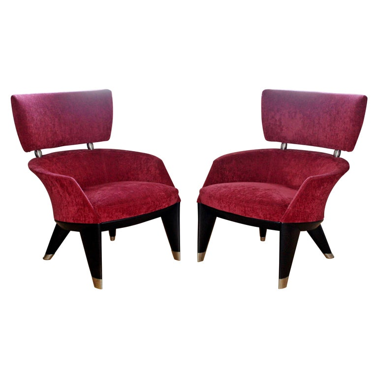 Contemporary Modern Pair Of Leon Krier For Giorgetti