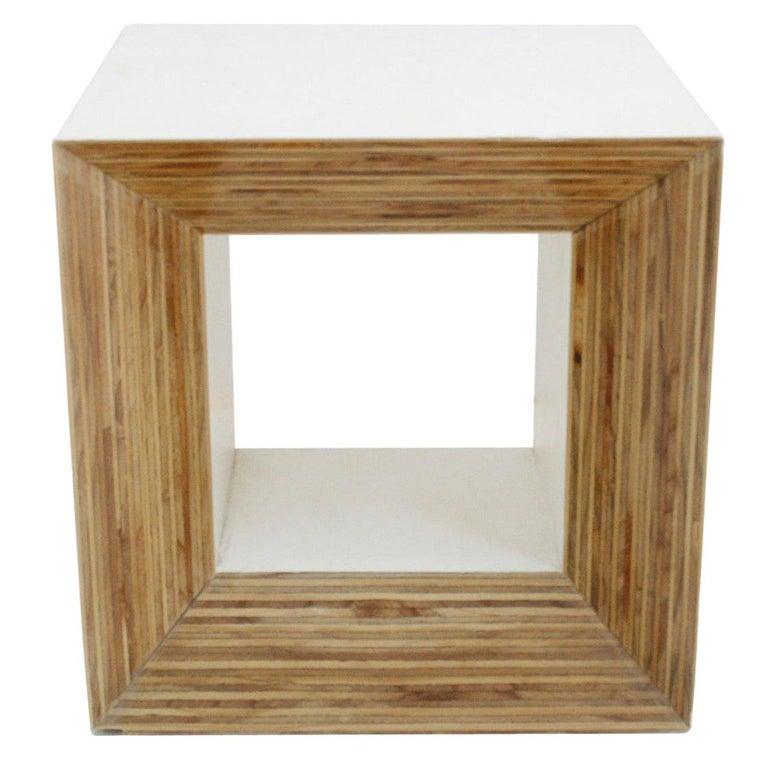 "Contemporary Modern Spanish Geometric Sculpture ""Arche Blanco 10001"" For Sale"