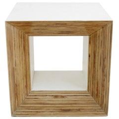 "Contemporary Modern Spanish Geometric Sculpture ""Arche Blanco 10001"""