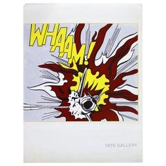 Contemporary Modern Unframed Roy Lichtenstein Whaam Pop Art Vintage Poster