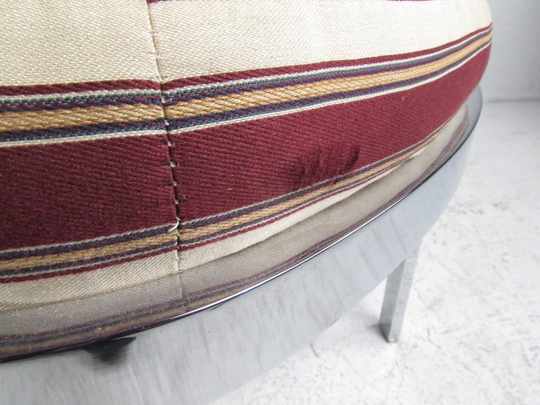 Contemporary Modern Upholstered Bench For Sale 3