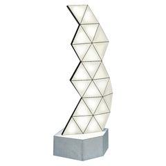 Contemporary Modular Floor Lamp Tri Light TRI23F by Tokio.