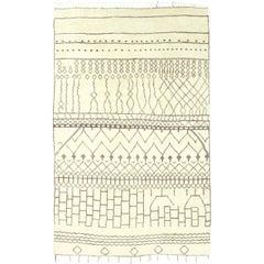 Contemporary Moroccan Berber Rug