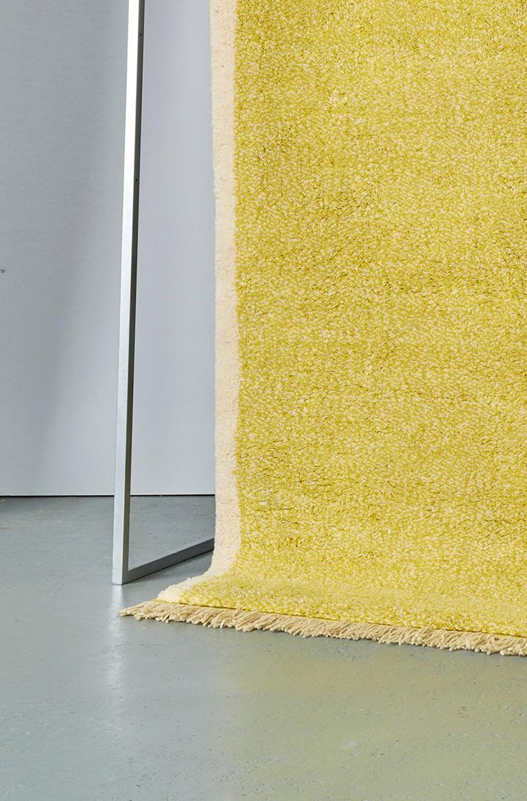 Hand-Knotted Contemporary Moroccan Hand Knotted Wool by Julie Richoz, 10 x 14 ft For Sale