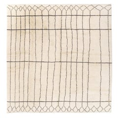 12x13 Ft Moroccan Rug, 100% Natural Undyed Wool, Custom Options Available