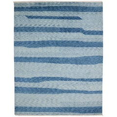 New Contemporary Coastal Moroccan Rug with Postmodern and Beach Hygge Style