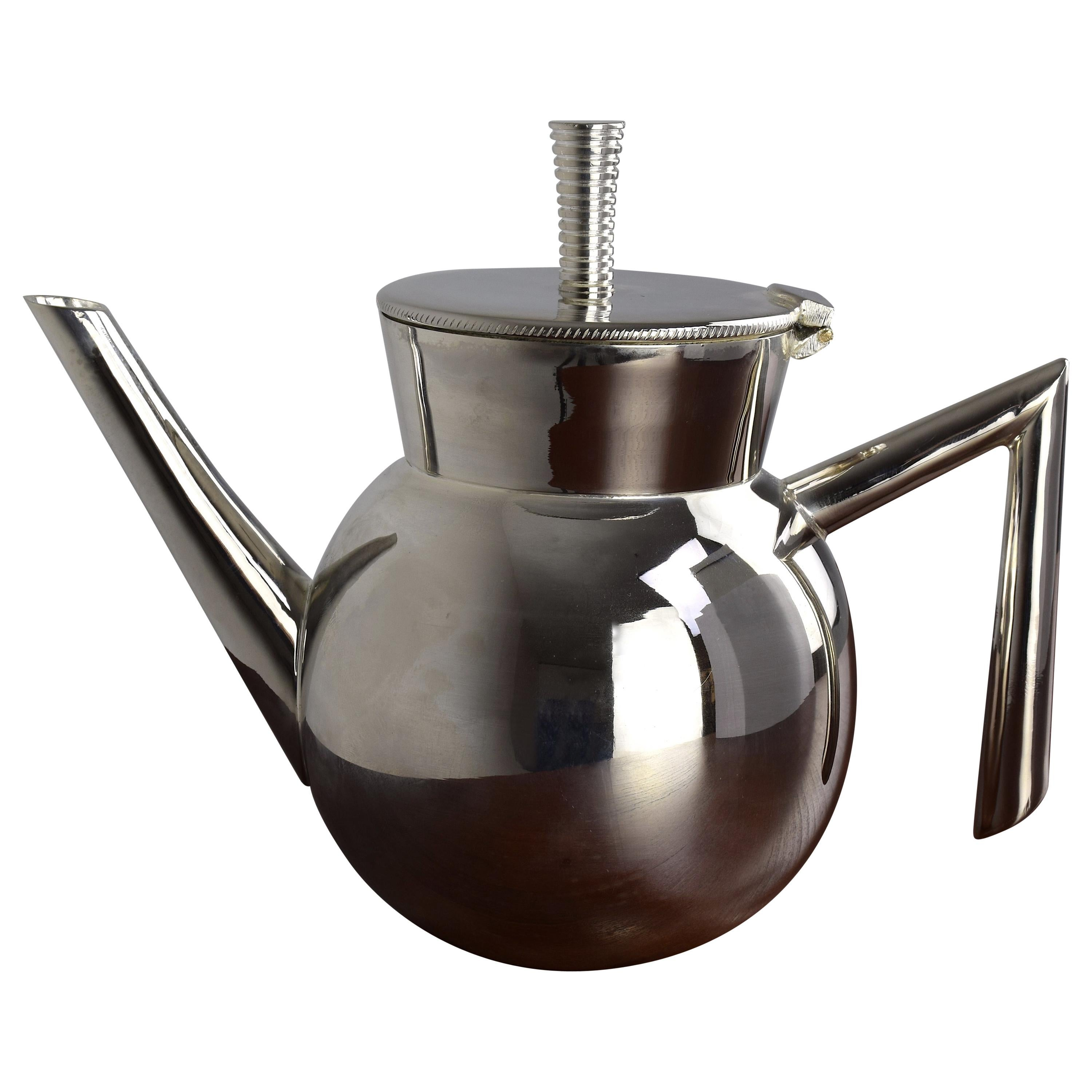 Contemporary Moroccan Teapot by Jonathan Amar