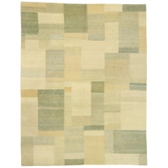 Contemporary Odegard Rug with Cubist Bauhaus Style