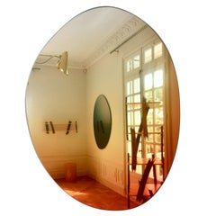 Contemporary Off Round Hue #4 Wall Mirror by Sabine Marcelis 'Sunrise'