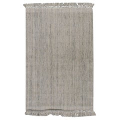 Contemporary Omni Rug Silver Charcoal Ivory  4' x 6'
