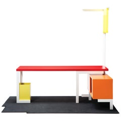 Contemporary Open Room No. 1 Workstation and Office Solution, In Stock